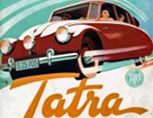 New prospectus and show - card of Tatra 87