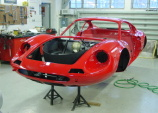 Renovation of Ferrari Dino 246 GT