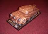 New model of Tatra 87 /pottery/