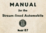 Manual for the Streamlined Automobile