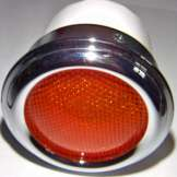 Tatra 87 - Tail lamp T87, orange for one bulb