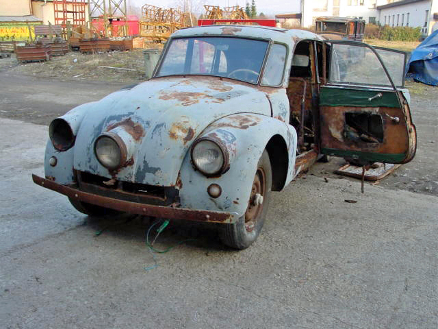 Ecorra Renovation Tatra 87